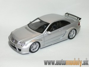 Kyosho - Mercedes-Benz CLK Coupe DTM AMG Silver - 1:18