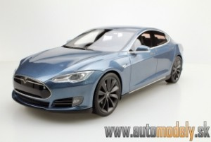 LS Collectibles - Tesla Model S 2012 Grey - 1:18