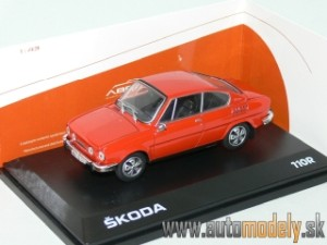 Abrex - Škoda 110R Coupe (1980) Racing Red - 1:43