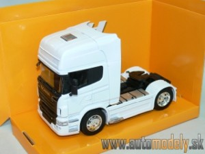 Welly - Scania R730 V8 (White) - 1:32