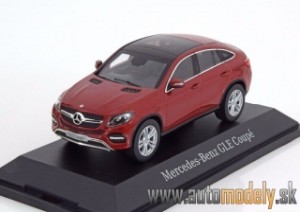 Norev - Mercedes-Benz GLE Coupe Red - 1:43