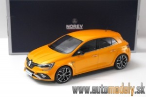 Norev - Renault Megane RS 2017 Orange - 1:18