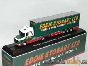 Scania T Series Curtainside - Kerry Jane H777 - Eddie Stobart Ltd - 1:76 Atlas Collection