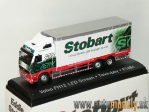 Volvo FH Mobile Led Screen - Eddie Stobart - 1:76 Atlas Collection