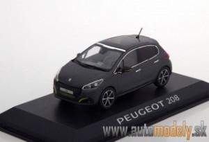 Norev - Peugeot 208 ( 2015 ) Ice Silver - 1:43