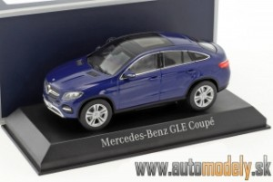 Norev - Mercedes-Benz GLE Coupe Blue - 1:43