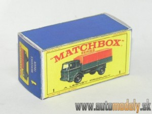 Replika Box - Matchbox Regular Wheels - No.1 Mercedes Truck
