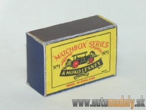 Replika Box - Matchbox A Moko Lesney - No.1 Road Roller