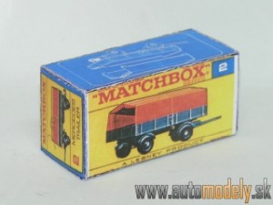 Replika Box - Matchbox Regular Wheels - No.2 Mercedes Trailer