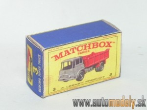 Replika Box - Matchbox Regular Wheels - No.3 Bedford Tipper Truck