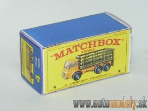 Replika Box - Matchbox Regular Wheels - No.4 Stake Truck