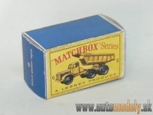 Replika Box - Matchbox Regular Wheels - No.6 Euclid Quarry Truck