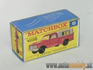 Replika Box - Matchbox Regular Wheels - No.6 Ford Pick-Up