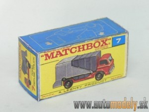 Replika Box - Matchbox Regular Wheels - No.7 Ford Refuse Truck