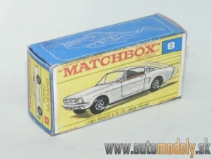 Replika Box - Matchbox Regular Wheels - No.8 Ford Mustang