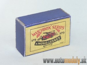 Replika Box - Matchbox A Moko Lesney - No.9 Fire Engine