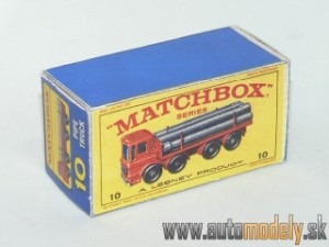 Replika Box - Matchbox Regular Wheels - No.10 Pipe Truck