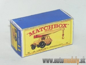 Replika Box - Matchbox Regular Wheels - No.11 Jumbo Crane
