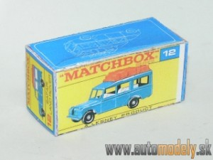 Replika Box - Matchbox Regular Wheels - No.12 Safari Land Rover