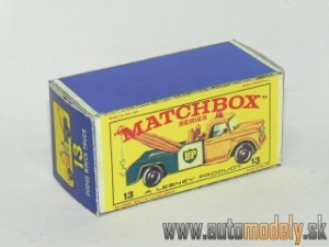 Replika Box - Matchbox Regular Wheels - No.13 Dodge Wreck Truck