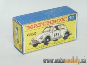 Replika Box - Matchbox Regular Wheels - No.15 Volkswagen Beetle