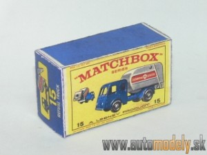 Replika Box - Matchbox Regular Wheels - No.15 Refuse Truck