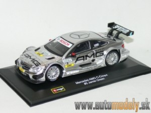 Bburago - Mercedes-Benz AMG C-Coupé No.5 Jamie Green - 1:32