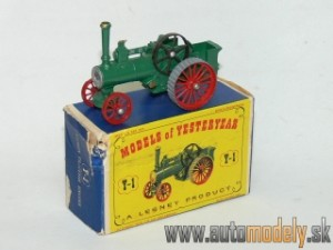 Matchbox Yesteryear Y-1 Alchin Traction Engine
