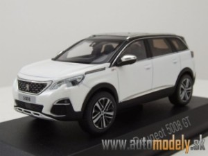 Norev - Peugeot 5008 GT 2016 Pearl White - 1:43
