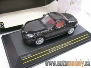 Mazda MX-5 Roadster 2013 ( Black ) - 1:43 First 43 Models