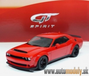 GT Spirit - Dodge Challenger Demon 2018 ( Red/black ) - 1:18