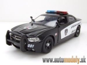 "Motor Max - 2011 Dodge Charger Pursuit ""Light and Sound"" - 1:24"
