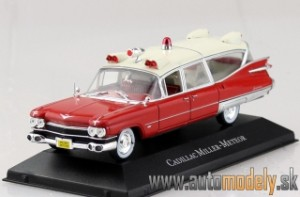 Cadillac Miller-Meteor Ambulance (Sanitka) - 1:43 Atlas Collection