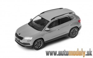 Škoda Karoq - Steel Grey - 1:43