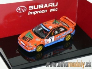 AutoArt 60091 - Subaru Impreza - Rally German 2000 Team K. Kremer/K. Wicha No.4 - 1:43