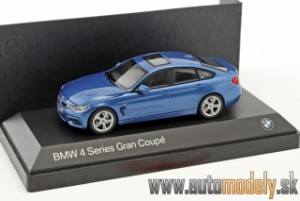 Kyosho - BMW 4 Series (F36) Grand Coupe (Estoril Blue) - 1:43