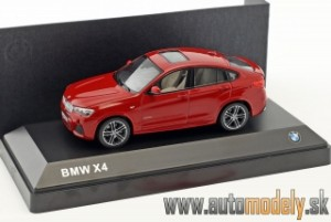 Herpa - BMW X4 (F26) 2015 Melbourne Red - 1:43