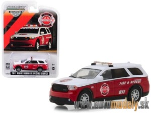 Greenlight - 2017 Dodge Durango Special Service - Fire & Rescue -1:64