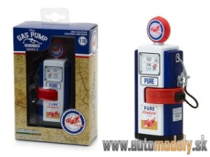 Greenlight - 1948 Wayne 100-A Gas Pump  - 1:18