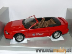 UNIVERSAL HOBBIES - FORD USA - MUSTANG GT CONVERTIBLE 30th ANNIVERSARY 1994 - 1:18