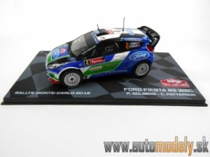Atlas -Ford FIESTA RS WRC No 4 SOLBERG/PATTERSON 4th RALLY- 1:43
