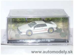 "James Bond 007 - Lotus Esprit Turbo ""For Your Eyes Only"" - 1:43"