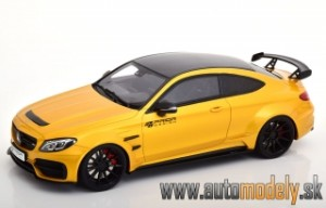 GT Spirit Mercedes AMG C63s Prior Design golden/black scale 1:18