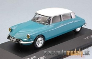 Whitebox - Citroen DS 19, 1966 - 1:24
