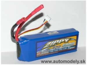 LI-PO Batéria ZIPPY 11.1v 5000mah 45C Series - High Discharge