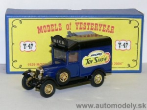 Matchbox Yesteryear - YYM37791 - 1929 Morris Light Van