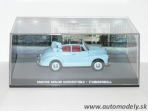 "James Bond 007 - Morris Minor Convertible ""Thunderball"" 1:43"