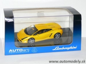 Autoart - Lamborghini Gallardo ( Metallic Yellow ) 1:43:
