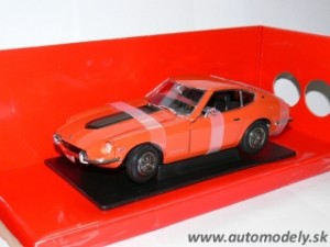 Yatming - 1970 Datsun 240z ( Orange ) 1:18