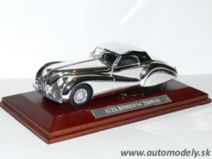 Alfa Romeo 6C 2500 SS - 1:43 Silver-Cars Collection